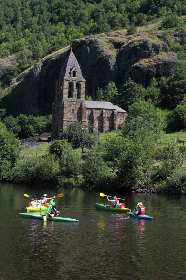 Randonnées en kayak sur l'Allier