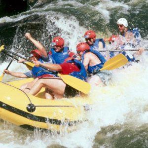 Raft sur l'Allier