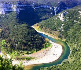 La Farniente 32 km Vallon Pont d'Arc – Sauze