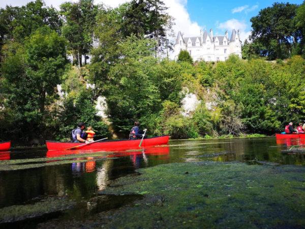 Rando canoe sur la Vienne