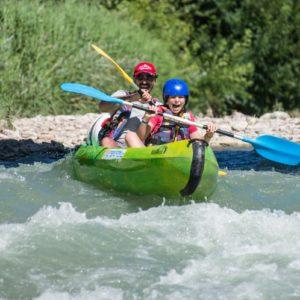 Descente de la drôme en canoe sur 2 jours
