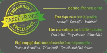 Charte Canoë France