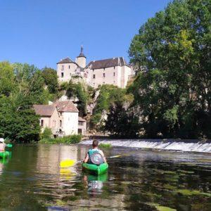 Randonnée en kayak sur la Vienne