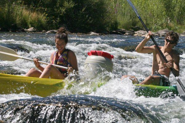 Randonnée en kayak sur l'Orb