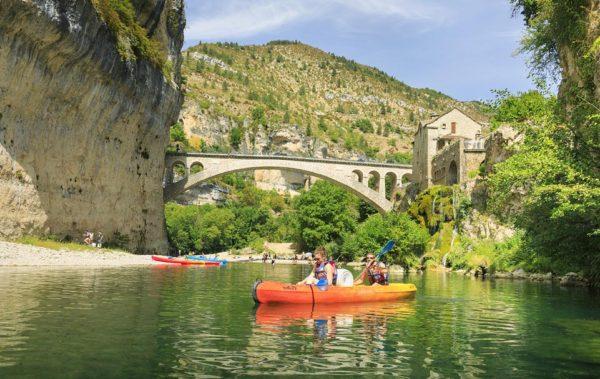 Location de kayak pour randonner sur le Tarn